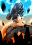 Mega Lucario by Agitype01