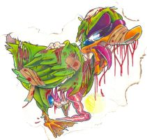 Zombie Duck by theJorell
