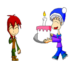 Kerr And Johhny: Time For Cake by Rise-Of-Majora