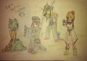 Epic Battle Fantasy 4 ever by Last4Last