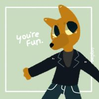 Nitw inspirational quote : Gregg by NuggetDoodles