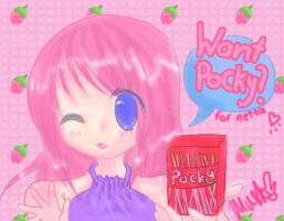 WaNt PoCkY? -for netta- by mushopea