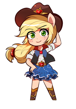 Applejack by SION-ARA