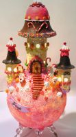 Candy Lamp Front 1 by bgerr