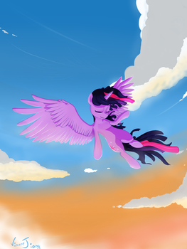 Flying Twi by VincentJiang0V0