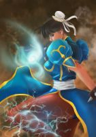 Fan Art - Chun Li by Zeon1309