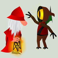 Gnome VS Hoodwink by ISawEverything