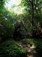 Cottage in the Woods by bellefoto