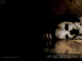 """acedia"" wallpaper by scarypaper"