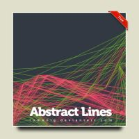 Abstract Lines Photoshop Brush by Romenig