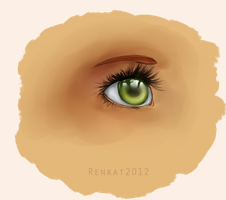 Realalistic Eye by Renkat