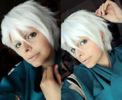 Toshiro Hitsugaya Make Up Test by karinWaterproof