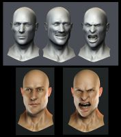 Expressions test by OmenD4