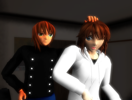 MMD The good old days by sofitssofi