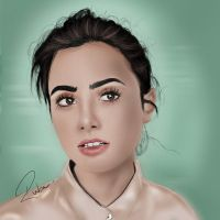 Lily Collins by Ta3abeer
