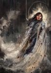 Fingolfin challenges Morgoth by WisesnailArt
