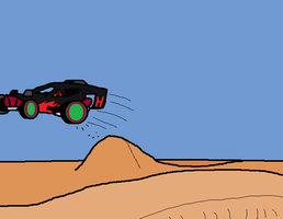 racing to the desert by blackevil915
