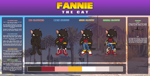 ::Ref2015:: Fannie the cat by FOX-POP