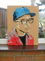 Pharrel Williams by artbydavidc