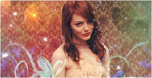 emma stone sign by luquitasabee