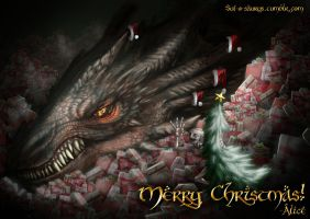Merry Hobbity Christmas! by SUIamena