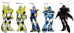 Master TFOC Ref: Primary Characters by xkatiexprime