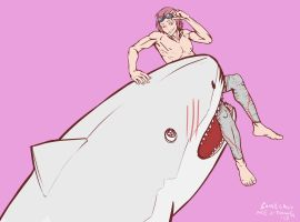 Shark Bite by somecallmejdawg