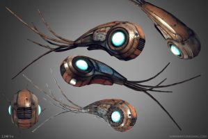 Robo Squid by Bawarner