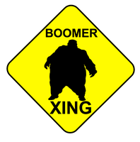 Boomer Xing by JediArtisan