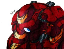 Hulkbuster by MikeES