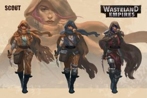 Wasteland Empires: Scout by ArtofTu