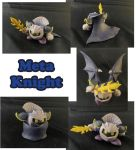 Meta Knight Sculpture: Collage by ClayPita