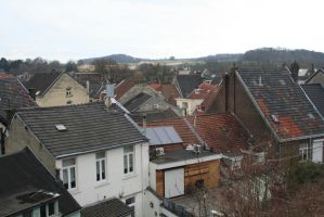 over the roofs from Valkenburg 13 by ingeline-art