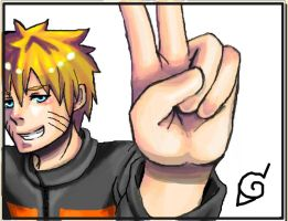 Naruto_Greeting by Hatake-Sara11