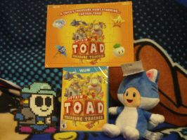 Captain Toad Game and Jigsaw Puzzle by MarioSimpson1