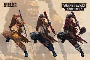 Wasteland Empires: Melee by ArtofTu