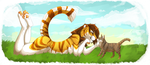 Cats are Tigers best friends by WolfHearts