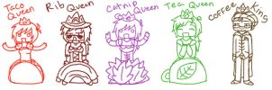 King and Queens by Kiyan200