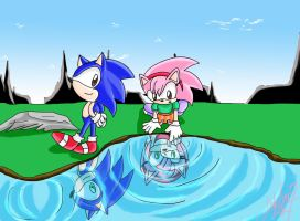 SONAMY throughout time. by jadenyugi9