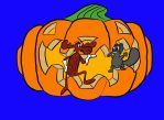 Rocky and Bullwinkle Halloween 2 by TheSkaldofNvrwinter