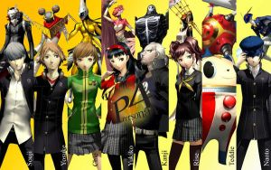 Persona 4 Wallpaper by jhawks