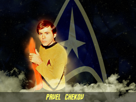 Pavel Chekov by KadouCreations