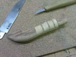 Handle for custom knife Opinel by N74