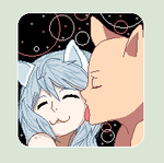 =Kitty Cat Kisses= by KageShadowKunoichi