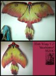 Moth wings version 2 by Magpieb0nes