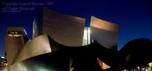 Disney Hall by Seanoriordan