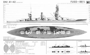 Technical Drawings: IJN Fuso by bwan69