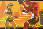 Sparring Session Ver2 by Blasian89