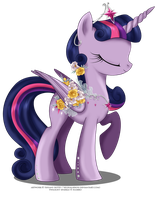 May Festival Pony - Twilight Sparkle by selinmarsou