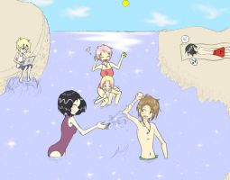 Code Lyoko: Summer Vacation by nyrelady